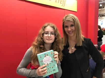 Mit Sonja Kaiblinger auf der Buchmesse 2018