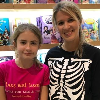 Treffen mit Sonja Kaiblinger auf der Buchmesse in Frankfurt 2018