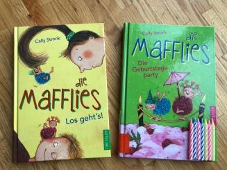 Die Mafflies sind bei Dressler (Verlagsgruppe Oetinger) erschienen.
